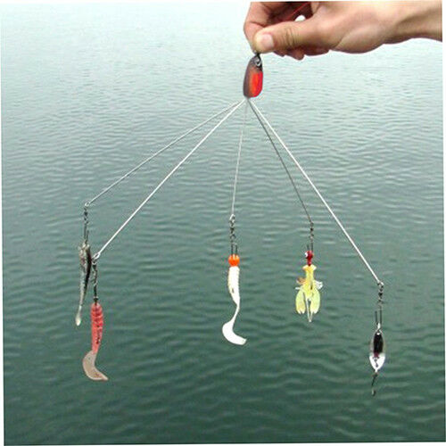 CW/_ Multi-use Outdoor Camping Fish Lure Equipment Fishing Tackle Combination Wel
