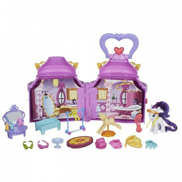 My Little Pony Cutie Mark Magic Rarity Booktique Playset – 20 Accessories