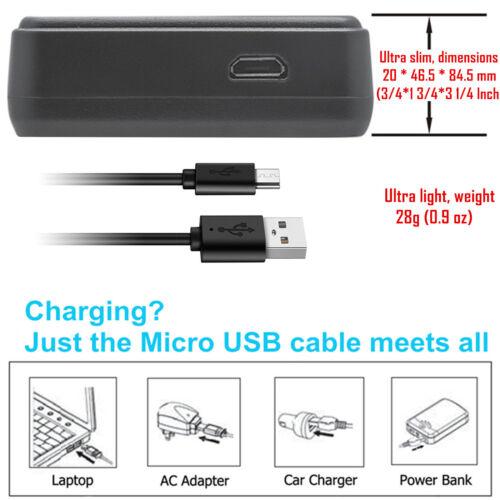 Kastar Batería Cargador USB LCD Para Sony NP-BX1 BC-CSXB /& Sony HDR-MV1 Cámara