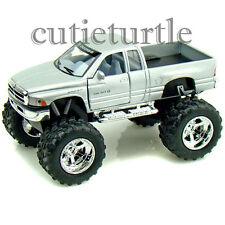 Kinsmart Off Road Big Foot Monster Dodge Ram 1500 PickUp Truck 1:44 Silver