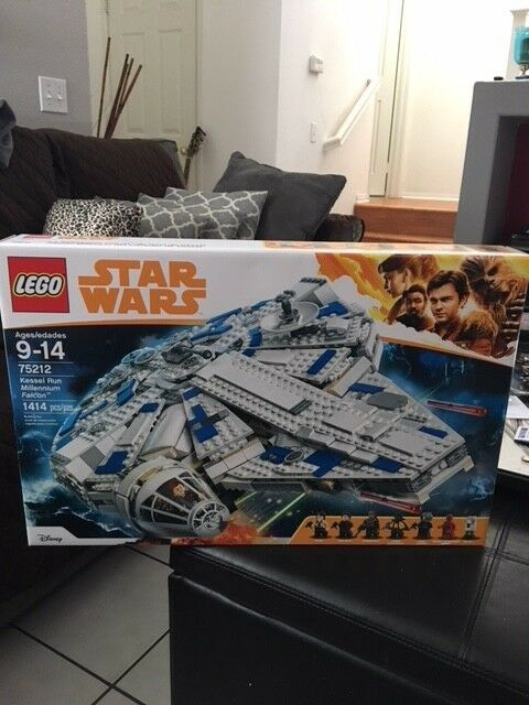 LEGO Star Wars Kessel Run Millennium Falcon 2018 2018 2018 75212 BRAND NEW FACTORY SEALED 545d56
