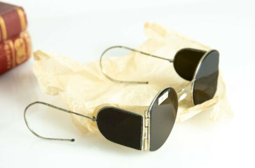 1930s New Steampunk sunglasses with side shields N