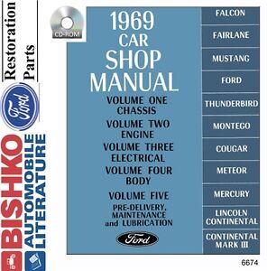 1969-Ford-Lincoln-Mercury-Shop-Service-Repair-Manual-CD-OEM-Mechanic-Guide