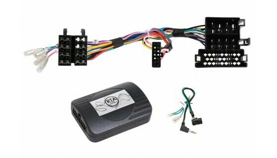 Fiat Stilo Facelift Car Radio Adapter + Steering Wheel Bose Soundsystem