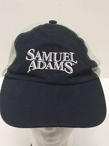 SAMUEL ADAMS SAM Embroidered Logo Baseball Hat Adjustable Sz Ball Cap BEER EUC
