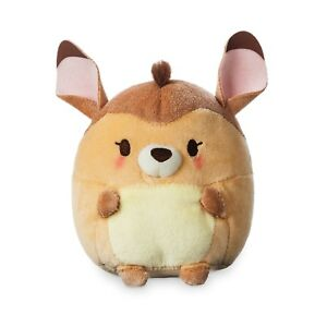 Disney-Store-4-5-034-H-Bambi-Ufufy-Small-Plush-Apple-Blossoms-Scented-New-with-tags