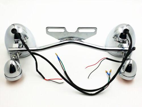 Driving Passing Turn Signal Spot Fog light Bar For Kawasaki Vulcan VN Touring