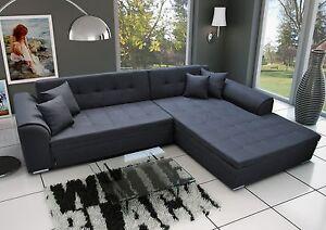 Couch Garnitur Ecksofa Sofagarnitur Sorento Wohnlandschaft