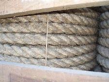 ROULEAU DE 10 m de corde en chanvre torsadée ø 25 mm