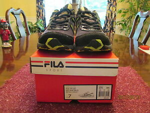 4f31c3be498f5 New In Box Fila Sport DLS Ancerus Boys Athletic/Running Shoes Size 7 ...