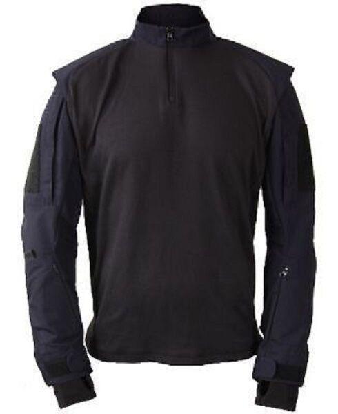 Us propper TAC u Police SWAT policía Tactical Combat camiseta negro negro M
