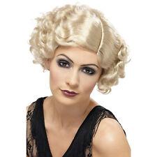 BLONDE 20s Charleston Flirty Flapper Hollywood WIG Fancy Dress Accessories 42003