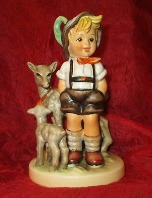 "Hummel figurine 200/ILITTLE GOAT HERDER TMK6 '88  ARTIST SIGNATURE! '89 5½"""