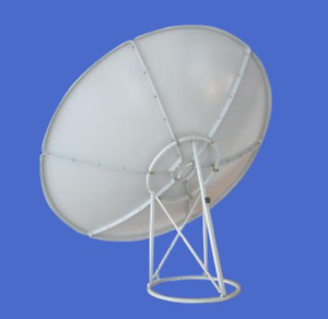 C Band 180cm 6 Feet Prime Focus Antenna Satellite Dish 6 Panels