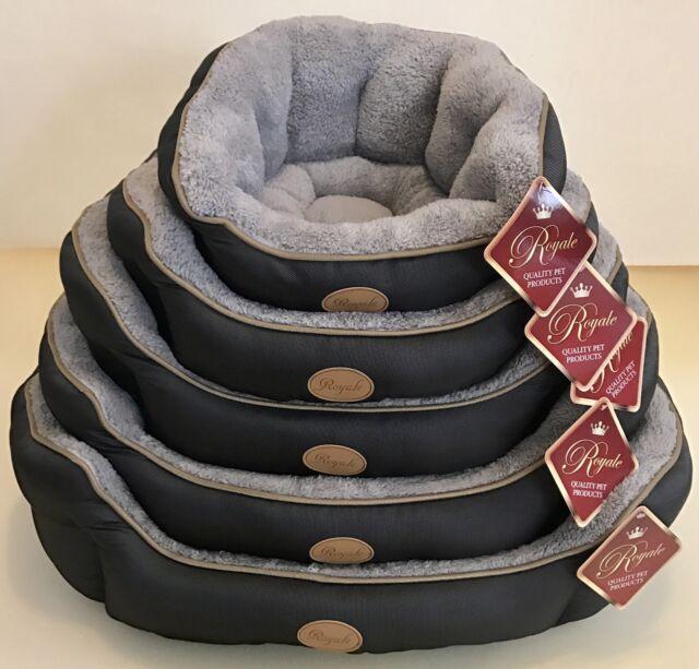 Dog Pet Bed Mattress Oval Waterproof/sherpa  -5 Sizes - Mini to XL - Mini: 45 cm