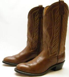 Men Falls Brn Work Mason Western Leather Vintage Cowboy Chippewa v1Hzawv