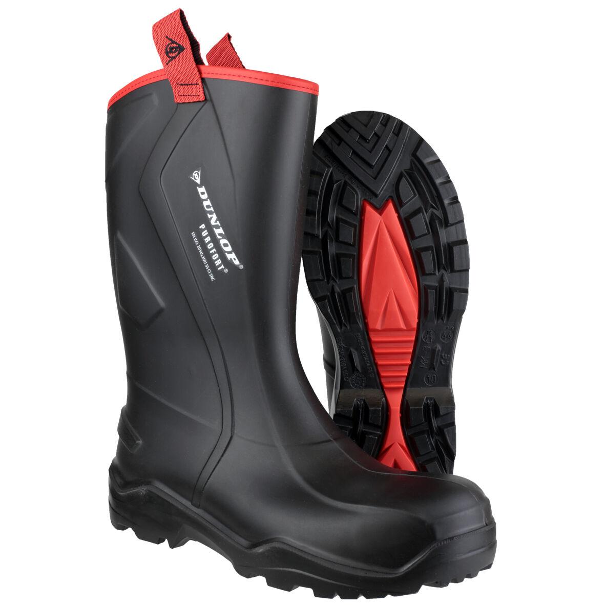 Dunlop Purofort + Irrobustito Sicurezza Completa da Uomo Industriale Lavoro