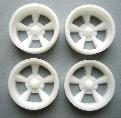 Resin 1/24 American Torq Thrust D Mag Wheels - Staggered Offset