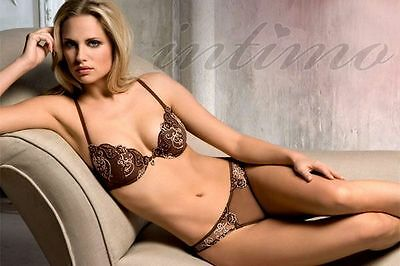 Emanuela Solera 7024 Contour Bra Only Brown 8 10 12 14 16