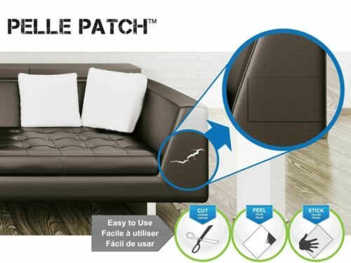 Leather /& Vinyl Adhesive Repair Patch O... Pelle Patch 25 Colors Available