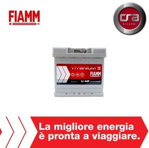 BATTERIA AUTO FIAMM TITANIUM PRO 44Ah LANCIA Y 1.2 7905141