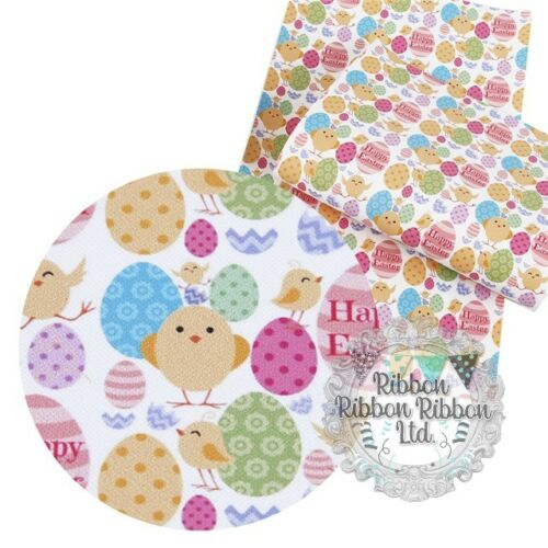 Easter Chic Fabric Sheet Crafts Bows UK Based Free Uk Shipping