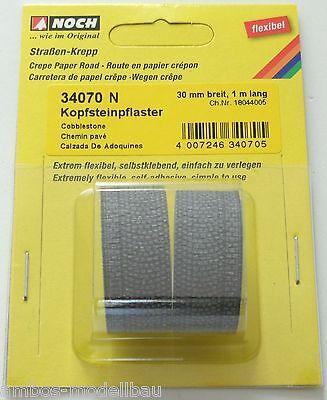 Noch-34222 Kopfsteinpflaster  100 x 4 cm