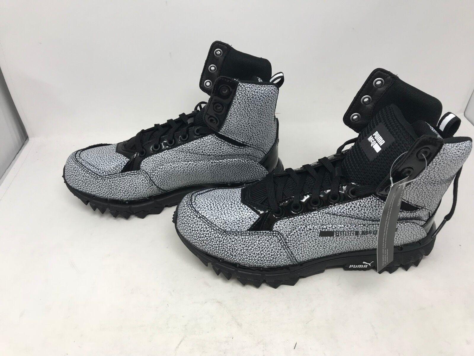 Mens Puma (361671-01) McQ Cell Track Mid Ceramic Shoes (20C)