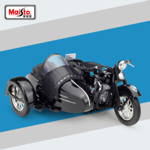 New-In-Box-1-18-1948-Harley-Davidson-EL-Diecast-Model-Motorcycle-Toy-By-Maisto
