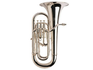 Band & Orchester Bb Euphonium Silber