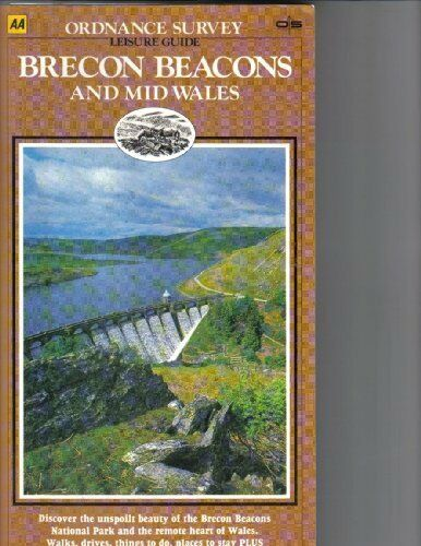 Brecon Beacons and Mid-Wales (Ordnance Survey Leisure Guide) By Various,Colin &
