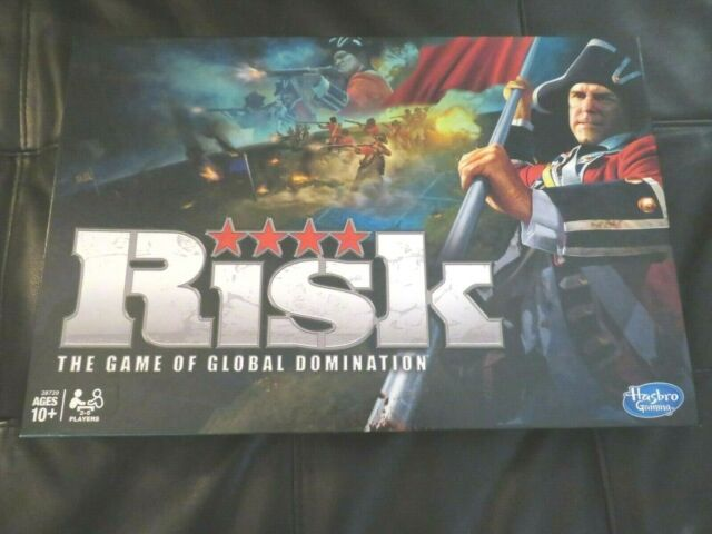 Risk Board Game Strategy Game Of Global Domination, 2010 -6241