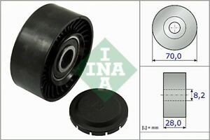 INA-V-Ribbed-Belt-Deflection-Guide-Pulley-532-0468-10-532046810-5-YR-WARRANTY