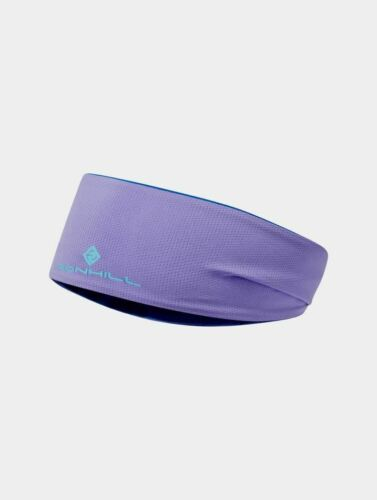 Ronhill réversible Revive Bandeau Running Fitness Outdoor Band-Lilas//AZURITE