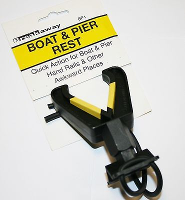 1 x  BREAKAWAY TACKLE BOAT /& PIER ROD REST