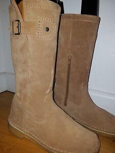 Clarks Originals Donna Deserto Grazer Stivali Taglia 4D indossati una volta