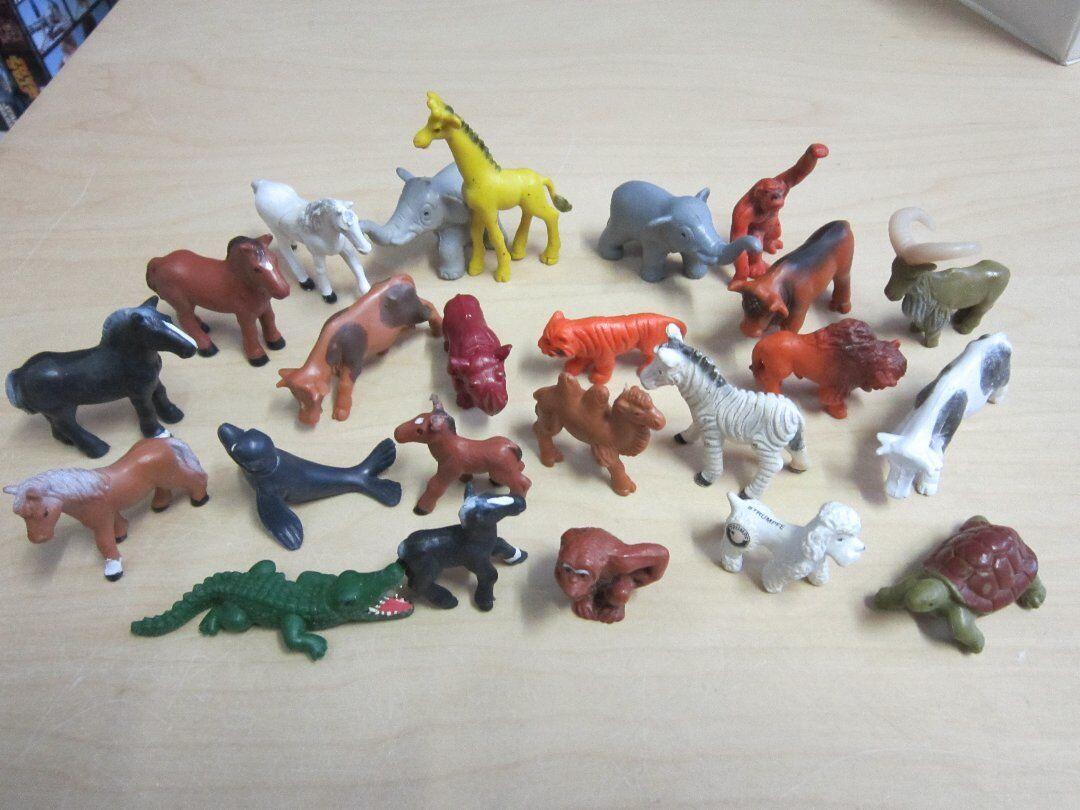 24 x SCHLEICH classeics ANIMALI PERSONAGGI ANIMALI collezione  rarità anni 80er  edizione limitata a caldo