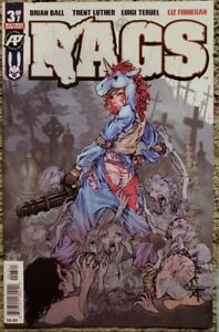 Rags #3 Exposed Variant Antarctic Press 1st prnt $10 cover NM never read Unicorn