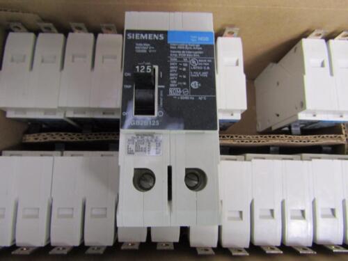 NGB2B125V Circuit Breaker 125 Amp//600V// 2 POLES NEW BULK SIEMENS NGB2B125