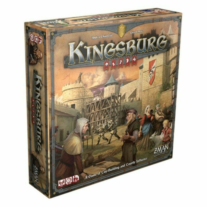 Kingsburg 2nd edition  brettspiel - neue