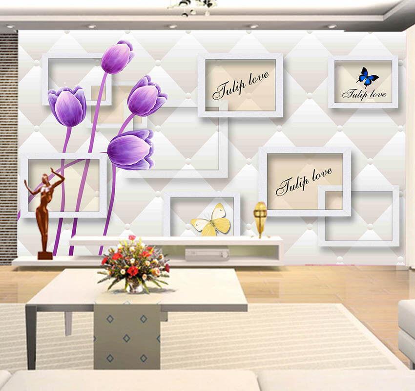 Robust Pulpy Lotus 3D Full Wall Mural Photo Wallpaper Printing Home Kids Decor