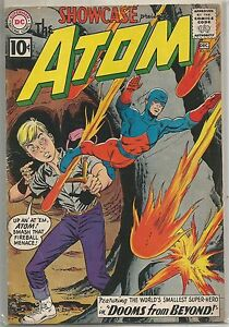 Showcase-35-Presents-the-Atom-DC-1961-Silver-Age-Comic-FN-FN-2nd-App