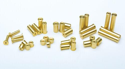 """.370/"""" Steel Iron 4 Gram Brass Tip Weights 1 Dozen"""