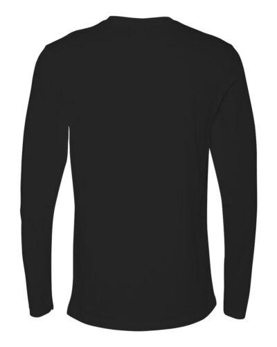 Next Level Premium Long Sleeve T-shirt 100/% Cotton Crew neck Tee N3601