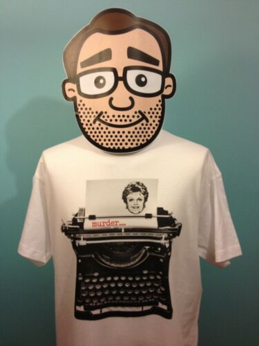 Typewriter T Shirt Angela Lansbury Murder She Wrote