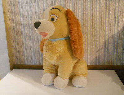 Disney Store Huge 22 Lady And The Tramp Plush Stuffed Puppy Dog Exclusive Ebay
