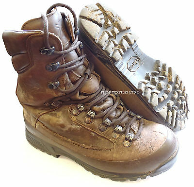 Genuine British Army Karrimor SF Cold Wet Weather Goretex Brown Combat Boots