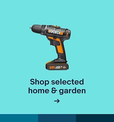 Shop selected home & garden