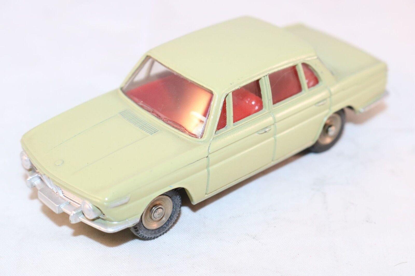 Dinky giocattoli 534 BMW 1500 verde in mint original condition SUPER modellolo