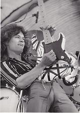 Print Art POSTER CANVAS Eddie Van Halen Plays Guitar in Concert
